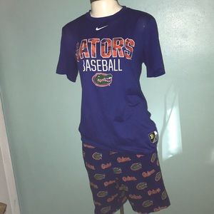 Nike Gators Baseball Shirt